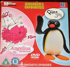 Angelina Ballerina & Pingu - 4 Fantastic Episodes (Animated DVD)