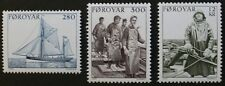 Fishing industry stamps, 1984, Faroe Islands, SG ref: 100-102, 3 stmap set, MNH