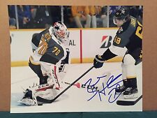 GEM! Washington Capitals Braden Holtby SIGNED NHL All Star 8x10 Photo w/ PROOF