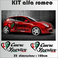 autocollant alfa romeo en vente ebay. Black Bedroom Furniture Sets. Home Design Ideas