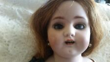 antique old german doll 1800s leather