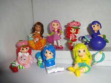 STRAWBERRY SHORTCAKE AND FRIENDS CAKE TOPPERS 7 PLASTIC FIGURES BRAND NEW