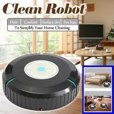 9''Auto Cleaner Robot Microfiber Smart Robotic Mop Floor Dust Home Cleaning Dirt