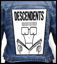 DESCENDENTS   --- Giant Backpatch Back Patch / NOFX Dag Nasty Bad Religion
