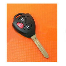 Uncut Blade Keyless Blank Car Key Shell Case Remote for Toyota Scion 3 Buttons