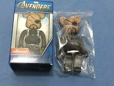 "Medicom Marvel Avengers Bearbrick ""Nick Fury"" Be@rbrick"