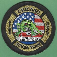 CHICAGO ILLINOIS FIRE DEPARTMENT DIVE RESCUE TEAM PATCH