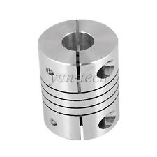 "6.35mm(1/4"") x 10mm CNC Motor Shaft Coupler Flexible Coupling Motor Connector"