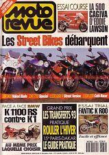 MOTO REVUE 3069 BMW K1100 RS K1 HONDA CBR 900 RR FireBlade SUZUKI GSX-R 1100 93