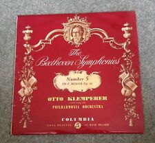 SAX 2373 BEETHOVEN SYMPHONY No 5 STEREO RED/SEMI OTTO KLEMPERER
