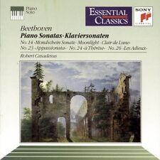 Robert Casadesus Beethoven Moonlight Les Adieux Appassionata