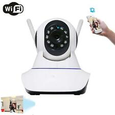 Wireless Pan Tilt 720P Network Security CCTV caméra Night Vision WIFI cam US EH