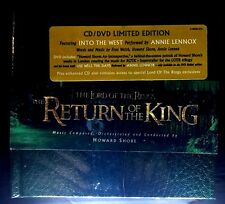 The Lord of the Rings: The Return of the King Soundtrack CD / DVD - BRAND NEW !