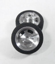"Pro Track 5/8"" wd. Custom Scale Front Wheels for 1/24 Slot Car"