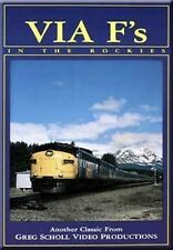 Via F's in the Rockies DVD NEW Greg Scholl Canadian Pacific FP9 CP CN Canada Fs