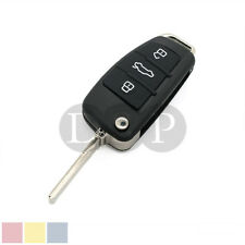 Folding Flip Remote Key Shell fit for AUDI 3 Button Case A2 A3 A4 A6 A6L A8 TT