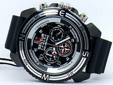 NEW SECTOR R3271603125 MOUNTAIN CENTURION CHRONOGRAPH BLACK SPORT WATCH SET