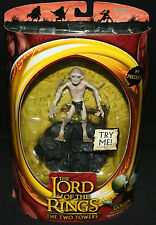 Lord of the Rings: The Two Towers Talking Gollum Figure (Sealed) 2002