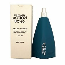 TRUSSARDI ACTION UOMO EAU DE TOILETTE NATURAL SPRAY 100 ML/3.3 OZ. (T-VINTAGE)
