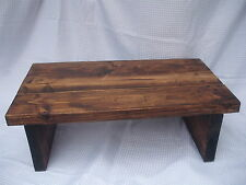 Rustic Coffee Table, Plank, Chunky - Handmade,Ready assembled, FREE DELIVERY!