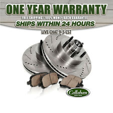 Front Brake Rotors Ceramic Pads 1999 2000 2001 2002 FORD EXCURSION F250 F350 2WD
