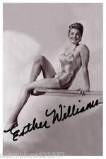 Esther Williams ++Autogramm++ ++Sex Symbol 50er Jahre++