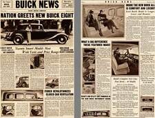 Buick 1932 - Buick News Vol.1, No. 1 December 3, 1932