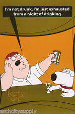 POSTER : TV: CARTOON:: FAMILY GUY - PETER & BRIAN - FREE SHIP  #3845   RAP16 A