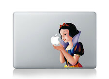 "Snow White Vinyl Protector Sticker Decal Skin for Macbook Pro Air 13"" 15"" 17"""