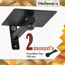 "Yoki's Speaker Wall Mount 5""X 5"" ( 1 Pair)"