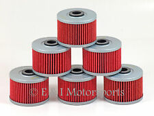 2004 2005 2006 HONDA RANCHER 350 TRX350TM **6 PACK** HIFLO OIL FILTER