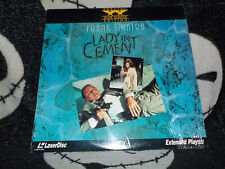 Lady In Cement Widescreen Laserdisc Factory Shrink Frank Sinatra Free Ship $3o