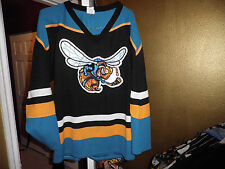 AK Athletic Knit Rio Grande Killer Bees Throwback Hockey Starter Jersey XL Rare!