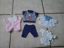 LOT VETEMENTS COROLLE POUR POUPEE COROLLE MINI CALIN OU COROLLINE