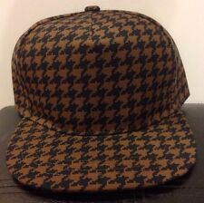 Uniqlo x Pharrell Williams Brown/Black Pattern Baseball Cap (New)