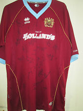 Burnley 2007-2008 Squad Signed Home Football Shirt with COA /39438