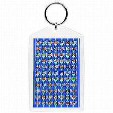 Nintendo Nes Snes N64 Gamecube MEGA MAN ROCKMAN Video Game KEYCHAIN NEW