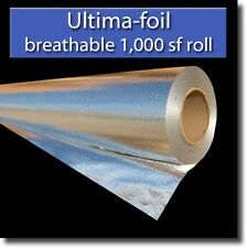 1,000 square feet RadiantGUARD® ULTIMA FOIL radiant barrier foil insulation
