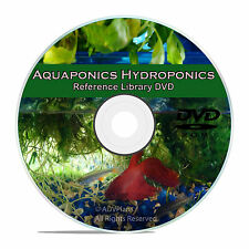 Soilless Gardening, Hydroponics, Fish Culture, Aquaponics, 75 Books on CD V66
