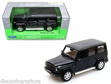MERCEDES BENZ G CLASS BLACK MADE BY WELLY 1/24 DIECAST CAR 24012W-BK