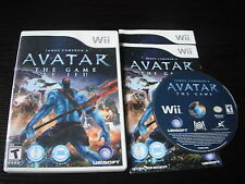 Nintendo Wii Complete in box James Cameron's Avatar tested