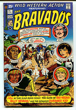 Wild Western Action Featuring The Bravados #1 FN  Skywald Comics CBX1C