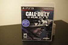 Call of Duty: Ghosts (Sony Playstation 3, 2013) *New / Factory Sealed