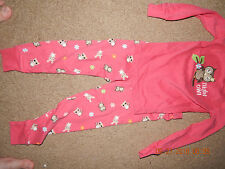 Gymboree girls 3 NIGHT OWL fall pajamas set EUC