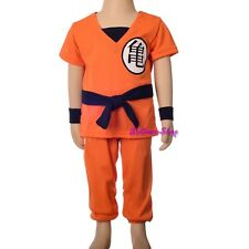 Dragon Ball Z Son Goku Fancy Costume Outfit Halloween Party Kid Size 6-8 FC046