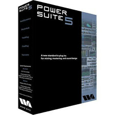 Wave Arts Power Suite 5 Mixing & Mastering Native Plug-in Bundle