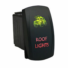 Rocker switch 612GR 12V ROOF LIGHTS Laser LED green red