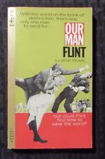 1965 OUR MAN FLINT by Jack Pearl 1st Pocket 50243 Paperback FVF