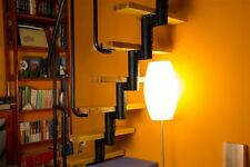 MINI-  Space Saver Spiral ,Loft Staircase Kit - Silver Metal-Work