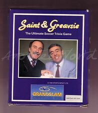 Saint & Greavsie (Grandslam 1989) Amstrad Disk Game - Big Box - Good - CPC Disc